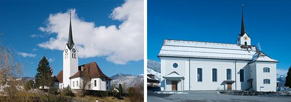 Kirchen Pfarrei Giswil